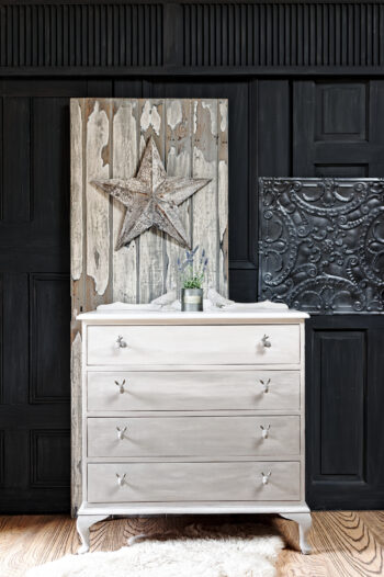 Ombre and Bunny Chest of Drawers