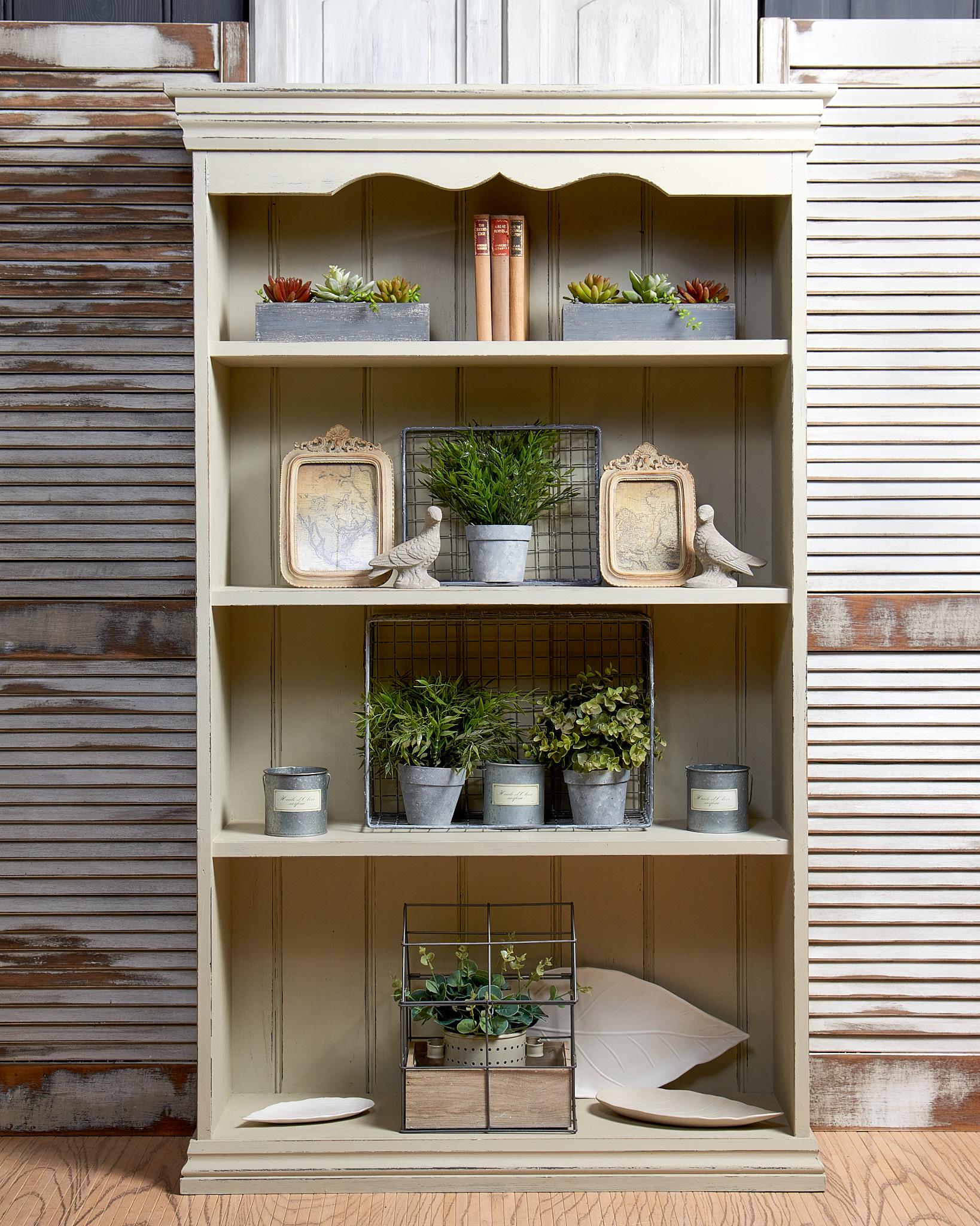 Rustic Book Shelves Antiquechic